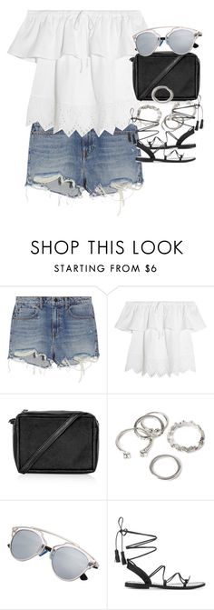 """""""Untitled #1947"""" by sophiasstyle ❤ liked on Polyvore featuring Alexander Wang, Madewell, Topshop, Forever 21 and Anine Bing"""