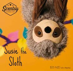 Susie the Sloth - Limited Edition Scentsy Buddie