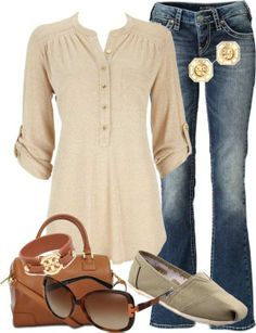 I would *LIVE* in this shirt.  It's dressy/put-together but very easy and simple