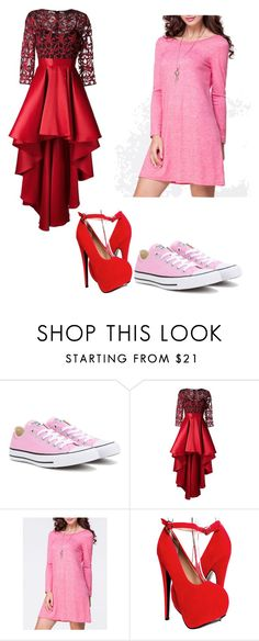 """""""Dresses"""" by jaqueline-grace on Polyvore featuring Converse, Christian Pellizzari and WithChic"""