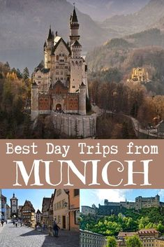 Discover the best day trips from munich, germany - neuschwanstein castle (~ Europe Travel Tips, European Travel, Travel Guides, Travel Advice, Travel Destinations, Germany Destinations, Travel Plan, Travel Hacks, Monteverde