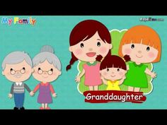 Learn Family Vocabulary for Kids and Children