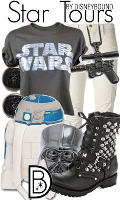 Perfect outfit for Star Wars weekends. Star Wars Outfits, Disney Bound Outfits, Disney Inspired Outfits, Disney Style, Run Disney, Disney Star Wars, Estilo Disney, Character Inspired Outfits, Fandom Outfits