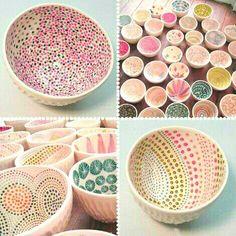 Beautiful Patterned Bowls