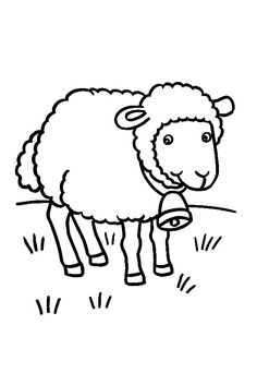 ovce Applique Patterns, Baby Party, Brown Bear, Sunday School, Farm Animals, Painted Rocks, Sheep, Coloring Pages, Embroidery Designs