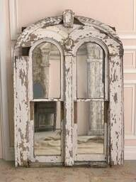 Architectural find turned into mirror