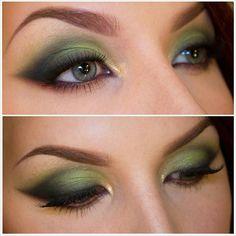 Forest green look @ stjima