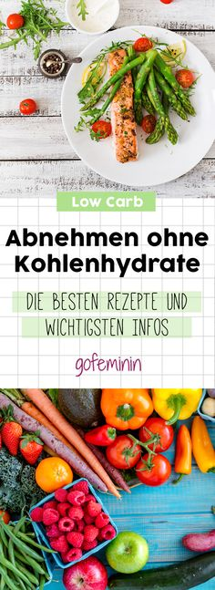 Abnehmen ohne Kohlenhydrate: Die besten Rezepte und wichtigsten Infos (Fitness Food)