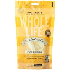 Whole Life Pets Products Original Chic Dog Treats, 3.3 oz ~~~ You can click on the image for additional details. (This is an affiliate link and I receive a commission for the sales)