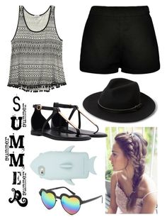 """""""Summer Outfit"""" by unicorn-narwhal ❤ liked on Polyvore featuring STELLA McCARTNEY, Wet Seal, Boohoo, Full Tilt, MANGO, women's clothing, women, female, woman and misses"""