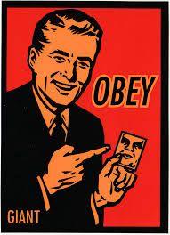 Image result for obey giant logo
