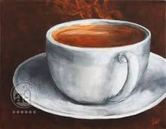 Image result for painting of a coffee mug