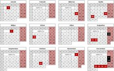 NAPTÁR 2019 - Google-keresés Periodic Table, Google, February, Periotic Table