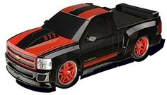 RC CAR: Fully functioning, remoted controlled; Steer in any direction; Take corners like a pro REALISTIC AND AUTHENTIC: Designed to 1/18 scale; Fully detailed exterior complete  with custom rims SPORTY: Finished with a high gloss paint job, rubber tires, detailed engine, raised hood and spoiler . . . read more . . . pls repin