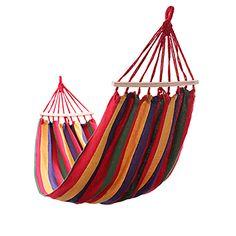 Ou 2 personne Hamac en plein air voyage Loisirs prévention de Renversement suspendus lit de couchage double toile balançoire hamac camping chasse