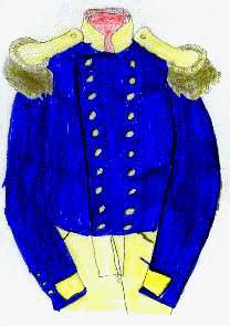 It wasn't until 1862 that the Union Army made strict rules about uniforms. Uniform coats and jackets were made of dark blue material. Pants were also dark blue.     When the Civil War started in 1861, the Confederate Army did not have one style of uniform for all soldiers.  By the end of the war, they followed Alabama's style.  Soldiers wore short gray tunics with green trim. Pants were light blue for enlisted men and dark blue for high-ranking officers. Dark Blue, Light Blue, Union Army, American History, Military Uniforms, Soldiers, Coat, School Stuff, Tunics