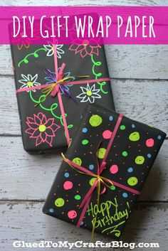 DIY Gift Wrap Paper