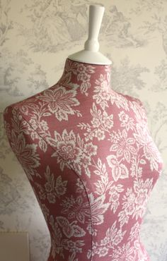mannequin from corset laced mannequins in our new orissa faded red. Sarah Hardaker.