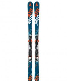 The Atomic Redstar XTi Ski is a great GS and Slalom ski fusion. Full sidewall, power woodcore, and titanium powered; perfect for all mountain terrain!