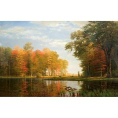 Autumn Woods | New-York Historical Society Hudson River school