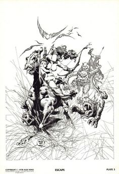 thebristolboard: Here's all 10 plates by Alex Niño from The... | Not Pulp Covers | Bloglovin'