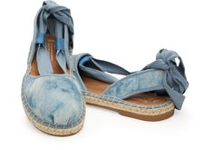 Skyway Blue Washed Suede Women's Bella Espadrille | TOMS | BLUE SEDE SHOES!! I think yes!