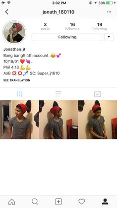 kindly follow him on instagram
