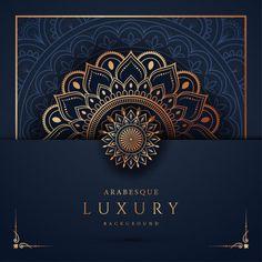 Luxury Mandala Background With Golden Arabesque Pattern Arabic Islamic East Style Luxury mandala background with golden arabesque pattern arabic islamic east style