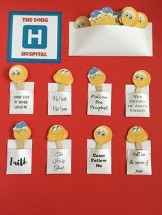 Camille's Primary Ideas: The Song Hospital
