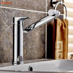 BAKALA All copper Bathroom faucet 360 degree rotation wash basin counter basin Hot and cold mixer taps LT-605/LT-606 bathroom remodel * AliExpress Affiliate's Pin. Click the image for detailed description