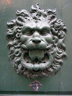 Paris Lion Door Knocker