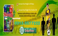 STEP UP BODY HEIGHT GROWTH IN PAKISTAN CONTACT NUMBER AVAILABLE BUY ONLINE WITH BEST PRICE & REVIEWS FOR ORDER BOOKING CONTACT US 0312-5577222, 0336-5117222....... Price=2499/- PKR Only http://www.xstvshop.com/601/As-Seen-On-Tv/7/Step-Up-Height-Growth-Formula-in-Pakistan.html