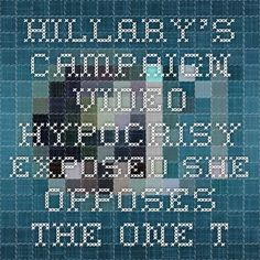 """Hillary's Campaign-Video Hypocrisy Exposed She opposes the one thing that could help the little girl who is being forced to move. by Paula Bolyard April 13, 2015 - 9:32 pm  pjmedia.com  Hillary Clinton's presidential announcement video featured a lineup of ordinary Americans talking about things they're getting ready for, including a mother and daughter who were packing up their belongings and preparing to move.  """"My daughter is about to start kindergarten next year,"""" the mother says, """"so…"""