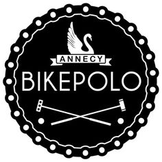 Annecy Bike Polo. Bike Machine, Polo Logo, Cycling Art, Graphics, Sports, Inspiration, Design, Veil, Bicycle Kick