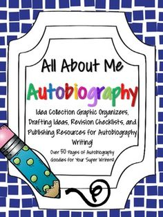 Over 50 pages of everything you need to launch some super smart autobiographies! These resources work well with the writing cycle and with student choice! Perfect for whole class, small group, fast finishers, or just as a fun writing project the first few weeks of school!