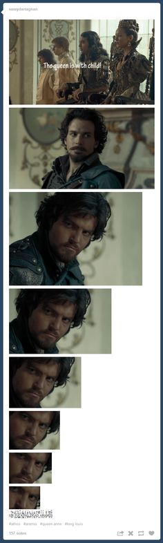 The Musketeers - Athos is not a man of many words but lets face it, in this scene he really doesn't need them...
