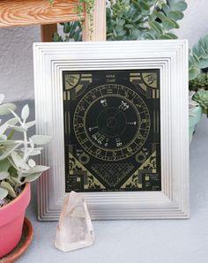 Custom Astrology Chart : Gold