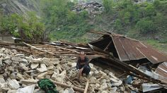 Nepal quake: Towns near epicentre 'devastated' - Red Cross