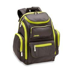 Jeep Perfect Pockets Back Pack Diaper Bag - BedBathandBeyond.com