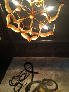 Curry and Company light fixture . . .