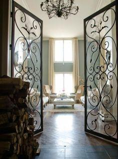Home Decor~ Wrought Iron Doors on Pinterest | Wrought Iron ...