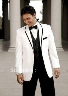 Men's Premium Tuxedo Suits - Premium Black & White Tuxedo ...
