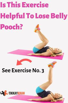 It is another effective exercise to lose belly pooch. It is also like twist crunches. The different thing is that you need to move your legs and shoulders behind, simultaneously. Rear Delt Exercises, Knee Exercises, Back Pain Exercises, Group Fitness, Health And Fitness Tips, Fitness Diet, Health Tips, Belly Pooch Workout, Workout Diet Plan