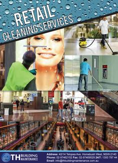 Here's what we have to offer:  Comprehensive Retail Cleaning Services Flexible Cleaning Timings Suitable for Everyone Well Equipped With Knowledge Skill and Equipment Individually Tailored Cleaning Program