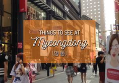 Let's have a peek of what Myeongdong has to offer ;) #travel #travelblogger #southkorea #korea #myeongdong #asia
