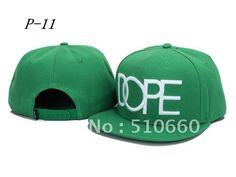 1pcs/lot Dope Baseball Snapback hats/Caps Green china post free shipping on AliExpress.com. $8.88