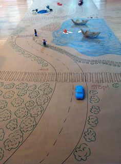 4 Creative Ideas With Kraft Paper to Make for Kids