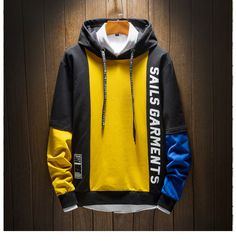 2019 hooded sweater casual fashion menswear Knitting , lace processing is the most beautiful hobbies that girls can't give up. Interesting knitting ideas have your . Stylish Hoodies, Cool Hoodies, Mens Fashion Sweaters, Japanese Streetwear, Hooded Sweater, Gentleman Style, Mens Sweatshirts, Fashion Menswear, Fashion Fashion