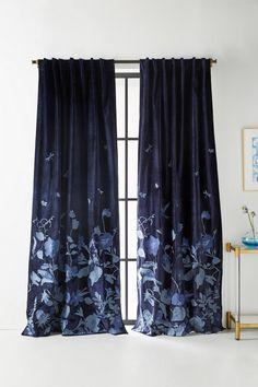Embroidered Miranda Curtain | Anthropologie