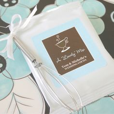 """A Lovely Mix"" Personalized Hot Cocoa with Optional Whisk"